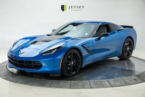 2016 Chevrolet Corvette for sale at Jetset Automotive in Cedar Rapids IA