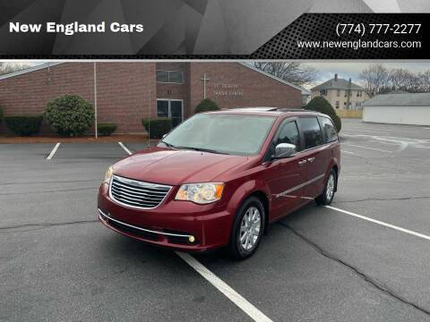 2012 Chrysler Town and Country for sale at New England Cars in Attleboro MA