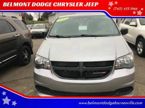 2015 Dodge Grand Caravan for sale at BELMONT DODGE CHRYSLER JEEP in Barnesville OH