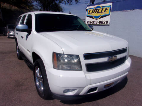 2008 Chevrolet Tahoe for sale at Circle Auto Center in Colorado Springs CO