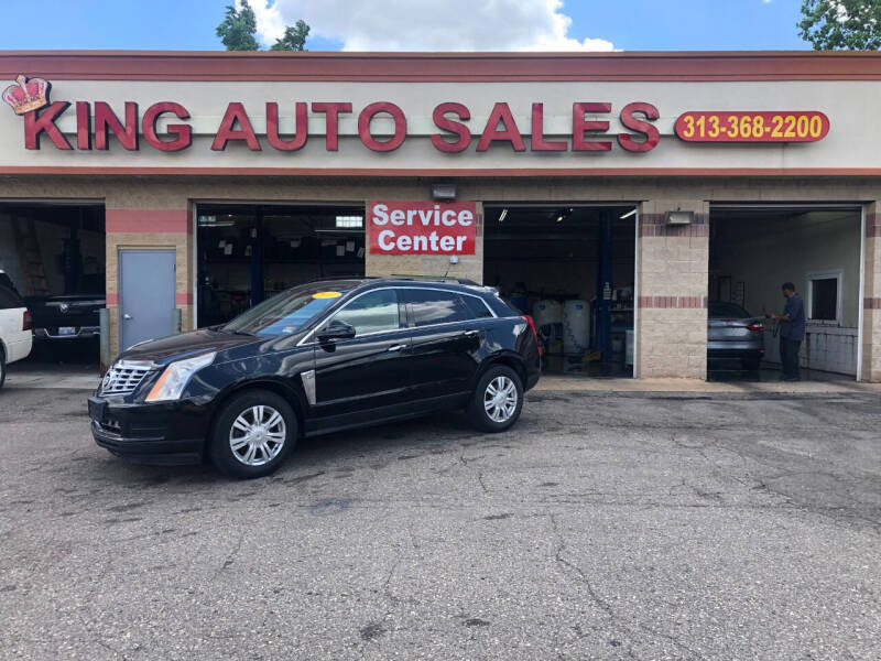 2010 Cadillac SRX for sale at KING AUTO SALES  II in Detroit MI
