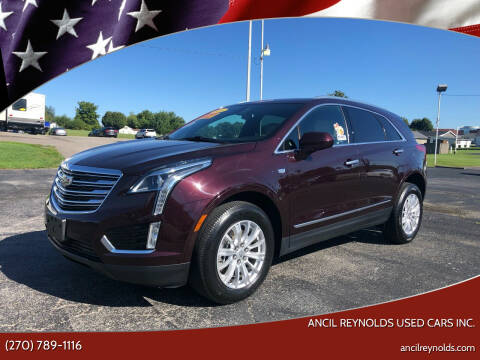 2018 Cadillac XT5 for sale at Ancil Reynolds Used Cars Inc. in Campbellsville KY
