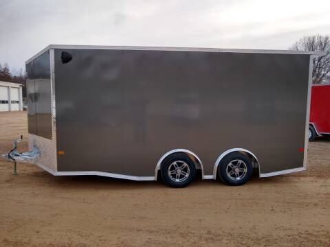 2021 E-Z Hauler 8.5 x 16 Ultimate UTV Trailer for sale at Thurk Bros Auto in St Bonifacius MN