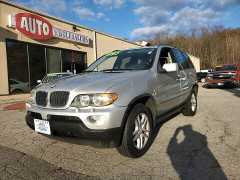2005 BMW X5 for sale at Auto Wholesalers Of Hooksett in Hooksett NH