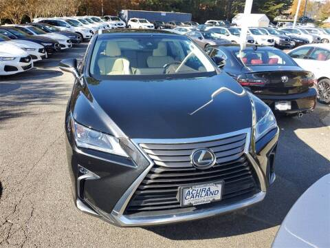 2017 Lexus RX 350 for sale at Southern Auto Solutions - Georgia Car Finder - Southern Auto Solutions - Acura Carland in Marietta GA