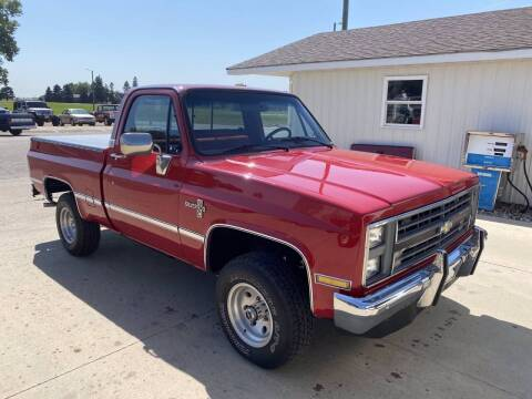1987 Chevrolet R/V 10 Series for sale at B & B Auto Sales in Brookings SD
