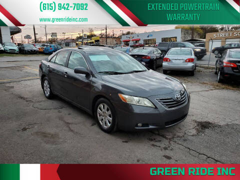 2007 Toyota Camry for sale at Green Ride Inc in Nashville TN