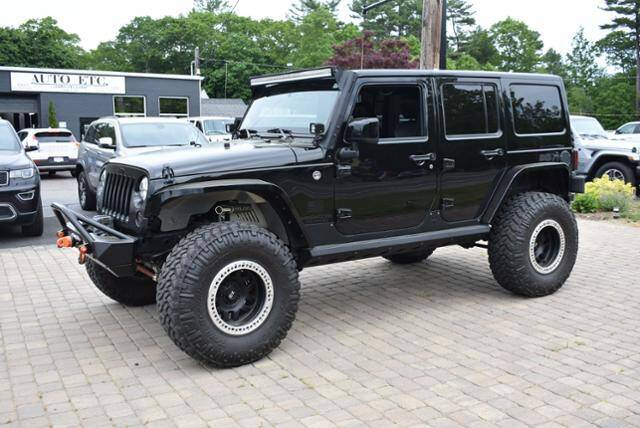 2014 Jeep Wrangler Unlimited for sale at AUTO ETC. in Hanover MA