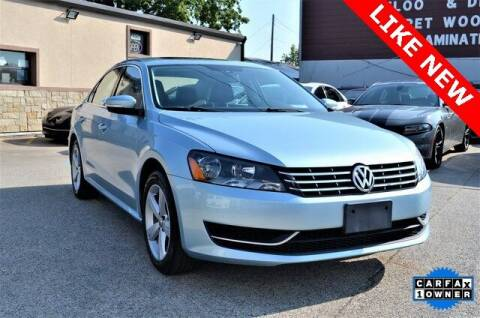 2013 Volkswagen Passat for sale at LAKESIDE MOTORS, INC. in Sachse TX