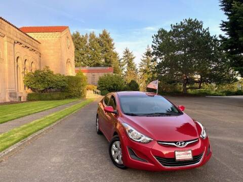 2016 Hyundai Elantra for sale at EZ Deals Auto in Seattle WA