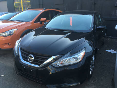 2017 Nissan Altima for sale at MELILLO MOTORS INC in North Haven CT