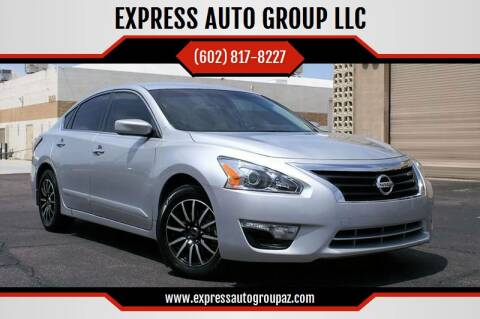 2014 Nissan Altima for sale at EXPRESS AUTO GROUP in Phoenix AZ