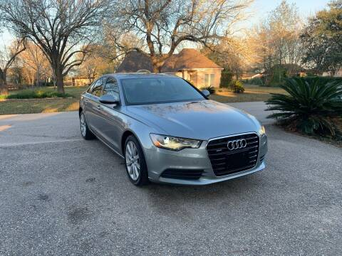2013 Audi A6 for sale at CARWIN MOTORS in Katy TX