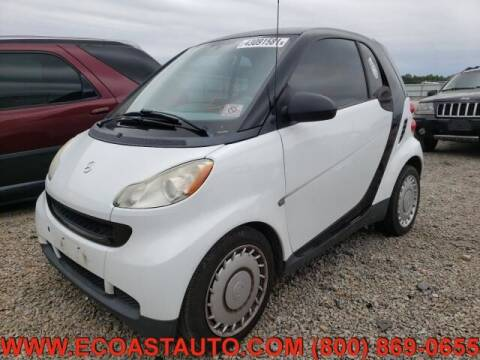 2009 Smart fortwo for sale at East Coast Auto Source Inc. in Bedford VA