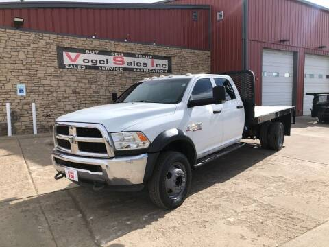 2015 RAM 5500 HD Flatbed for sale at Vogel Sales Inc in Commerce City CO