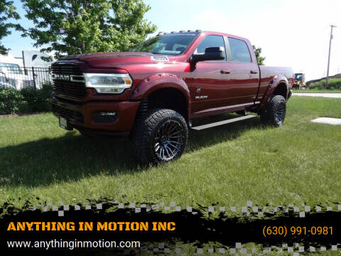 2020 RAM Ram Pickup 2500 for sale at ANYTHING IN MOTION INC in Bolingbrook IL