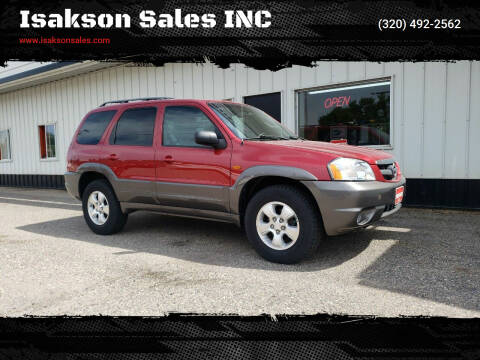 2003 Mazda Tribute for sale at Isakson Sales INC in Waite Park MN