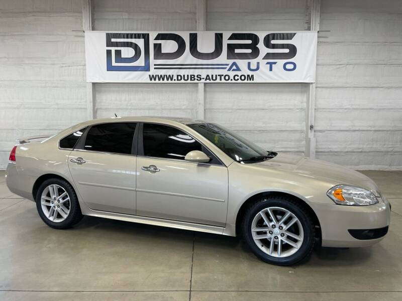 2012 Chevrolet Impala for sale at DUBS AUTO LLC in Clearfield UT