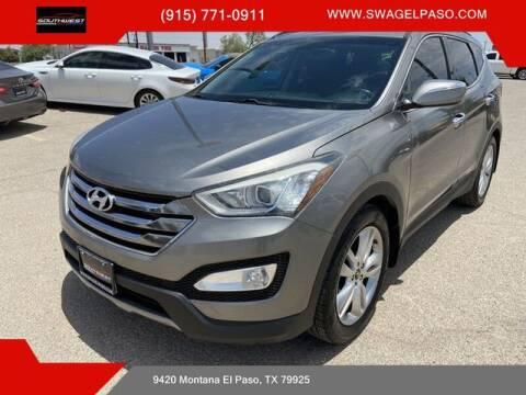 2013 Hyundai Santa Fe Sport for sale at SOUTHWEST AUTO GROUP-EL PASO in El Paso TX