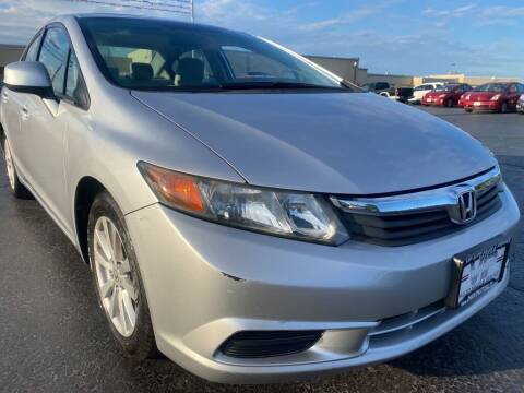 2012 Honda Civic for sale at VIP Auto Sales & Service in Franklin OH
