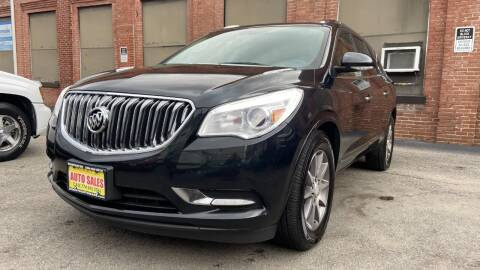 2014 Buick Enclave for sale at Rocky's Auto Sales in Worcester MA