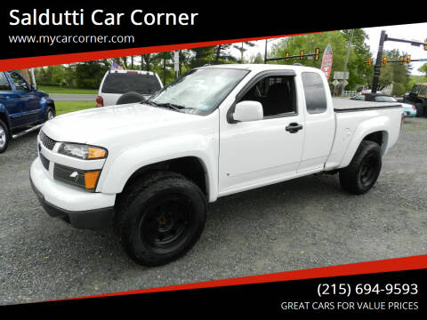 2009 Chevrolet Colorado for sale at Saldutti Car Corner in Gilbertsville PA