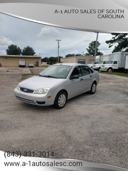 2007 Ford Focus for sale at A-1 Auto Sales Of South Carolina in Conway SC