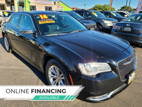 2016 Chrysler 300 for sale at Super Cars Sales Inc #1 - Super Auto Sales Inc #2 in Modesto CA
