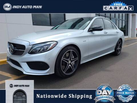 2016 Mercedes-Benz C-Class for sale at INDY AUTO MAN in Indianapolis IN