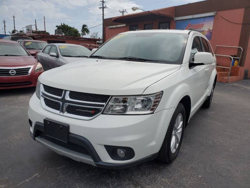 2015 Dodge Journey for sale at A Group Auto Brokers LLc in Opa-Locka FL