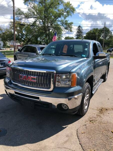 2013 GMC Sierra 1500 for sale at Jimmys Auto Sales in North Providence RI