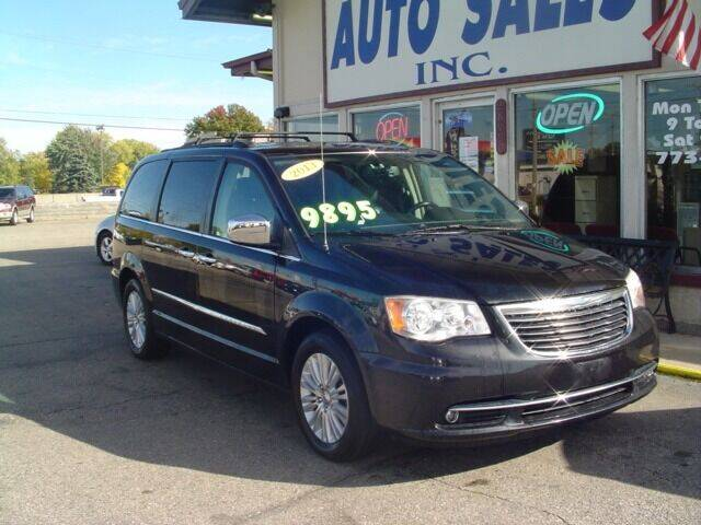 2013 Chrysler Town and Country for sale at G & L Auto Sales Inc in Roseville MI