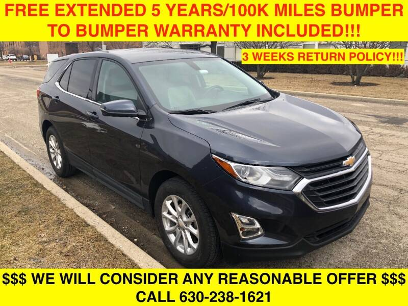 2018 Chevrolet Equinox for sale at Mikes Auto Forum in Bensenville IL