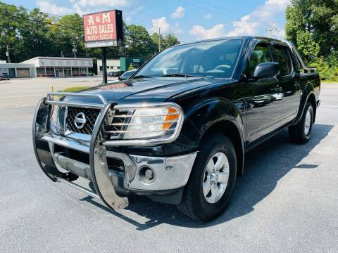 2010 Nissan Frontier for sale at A & M Auto Sales, Inc in Alabaster AL