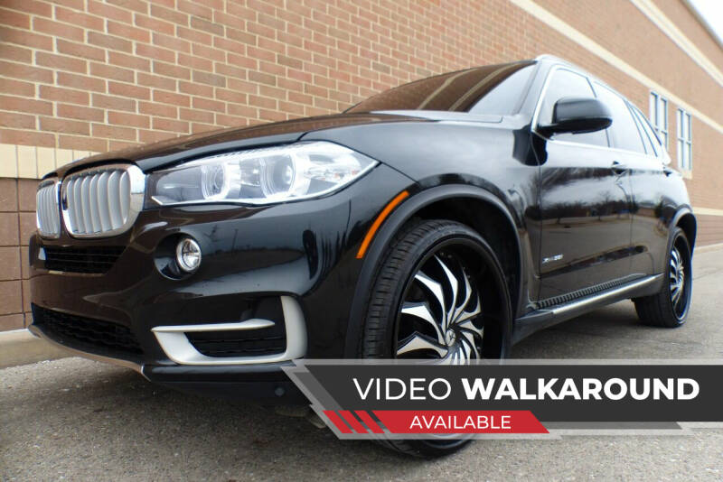 2017 BMW X5 for sale at Macomb Automotive Group in New Haven MI