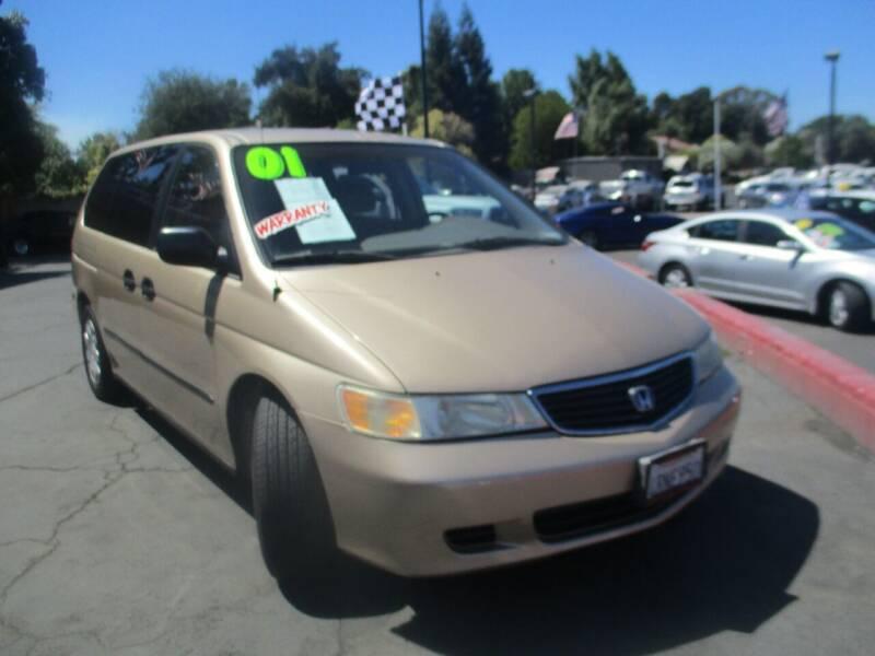 2001 Honda Odyssey for sale at Quick Auto Sales in Modesto CA