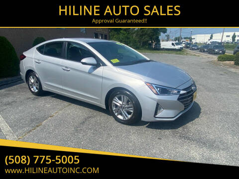 2020 Hyundai Elantra for sale at HILINE AUTO SALES in Hyannis MA