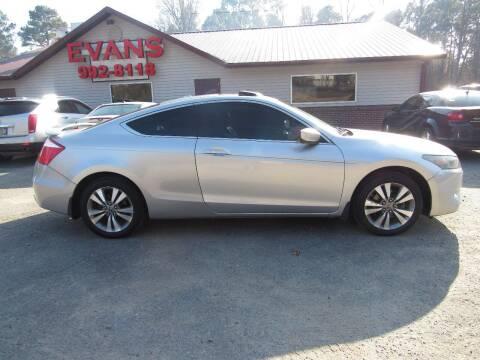 2009 Honda Accord for sale at Evans Motors Inc in Little Rock AR