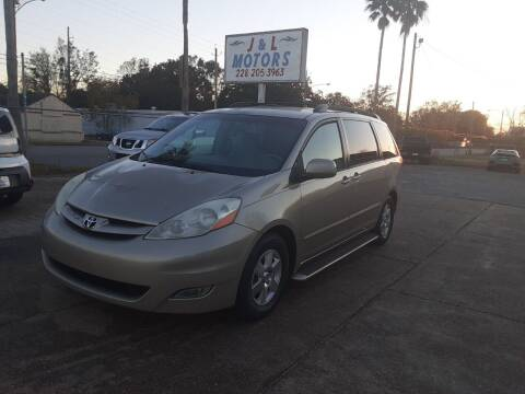 2007 Toyota Sienna for sale at J & L Motors in Pascagoula MS