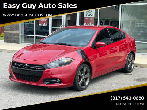 2015 Dodge Dart for sale at Easy Guy Auto Sales in Indianapolis IN