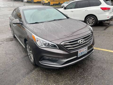 2015 Hyundai Sonata for sale at SNS AUTO SALES in Seattle WA