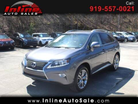 2013 Lexus RX 450h for sale at Inline Auto Sales in Fuquay Varina NC