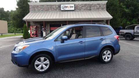 2015 Subaru Forester for sale at Driven Pre-Owned in Lenoir NC