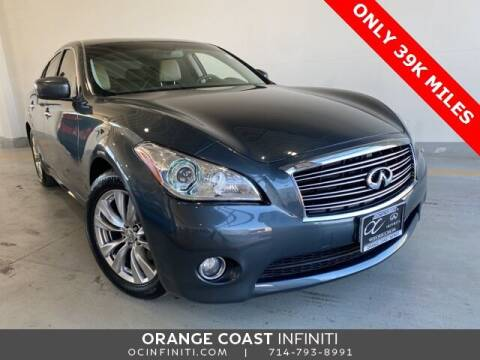 2012 Infiniti M37 for sale at ORANGE COAST CARS in Westminster CA