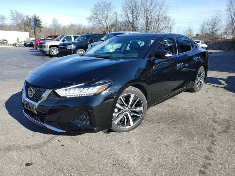 2020 Nissan Maxima for sale at Cruisin' Auto Sales in Madison IN