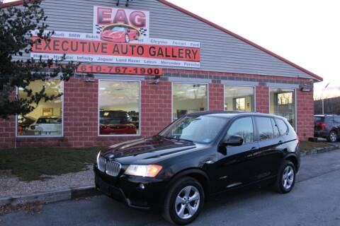 2011 BMW X3 for sale at EXECUTIVE AUTO GALLERY INC in Walnutport PA