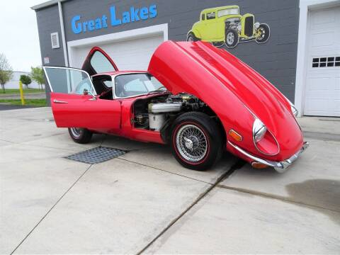 1969 Jaguar E-Type for sale at Great Lakes Classic Cars in Hilton NY