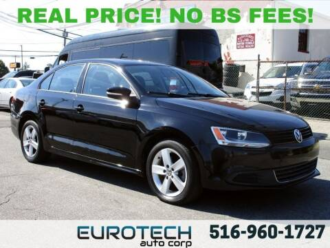 2012 Volkswagen Jetta for sale at EUROTECH AUTO CORP in Island Park NY