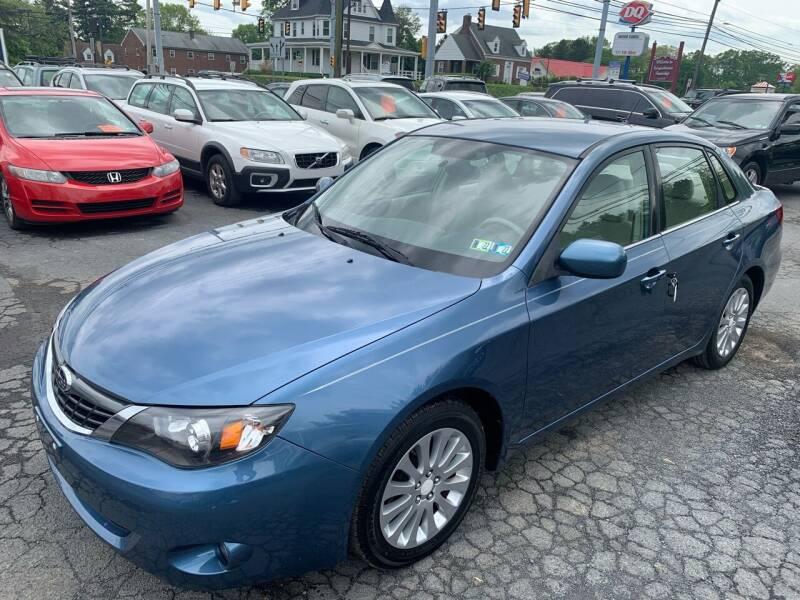 2008 Subaru Impreza for sale at Masic Motors, Inc. in Harrisburg PA
