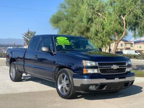 2006 Chevrolet Silverado 1500 for sale at Esquivel Auto Depot in Rialto CA
